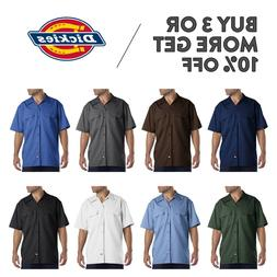 DICKIES 1574 MENS CASUAL WORK SHIRT SHORT SLEEVE UNIFORM DRE