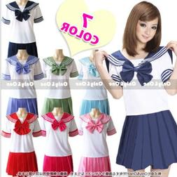 2018 new Japanese school <font><b>uniforms</b></font> sailor
