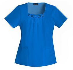 Cherokee 2695 Women's Square Neck Top Medical Uniforms Scrub
