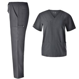 4 Way-Stretch Nursing Scrubs Set - Medical Uniform Women Str