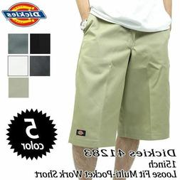 "Dickies 41283 Mens 15"" Multi-Use Pocket Work Shorts Various"