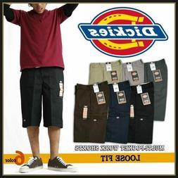 "Dickies 42283 Mens 13"" Multi-Use Pocket Work Shorts Various"
