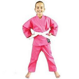 ProForce 6 oz Lightweight Student Uniform - Pink Elastic Dra