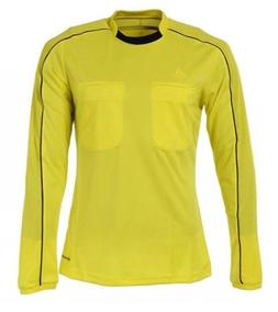 $65 Adidas Referee 16 Jersey Soccer L/S Size SMALL Shirt Top