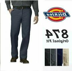 Dickies 874 Dark Navy Men's Work Uniform Trousers Original F