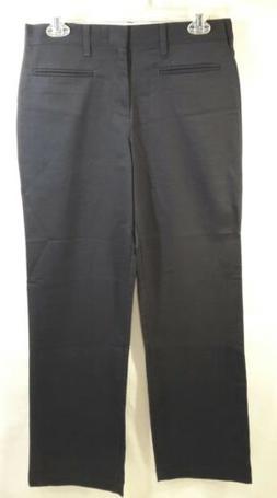 A+ School Apparel Girls JR Uniform Front Pleated Pocket Pant