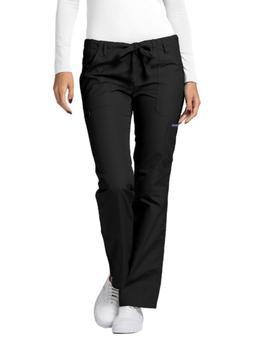 Adar Medical Uniform Low Rise Multi Pocket Drawstring Straig