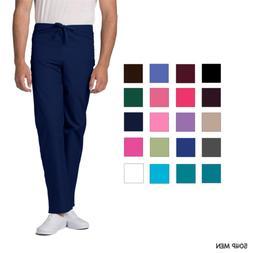 Adar Petite Men Medical Nursing Uniform Multi Pocket Tapered