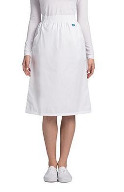 Adar Universal Knee-Length A-Line Side Pocket Skirt - 704 -