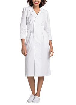 Adar Universal Tuck Pleat Midriff Dress - 812 - White - 4