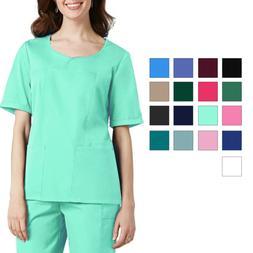 adar women medical nurse uniform sweetheart v