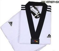 Adidas ADI-FIGHTER NEW 3-STRIPE Taekwondo Uniform  Tae Kwon