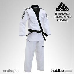Adidas ADI-OPEN 3S SUPER MASTER Uniform  Taekwondo Hapkido O