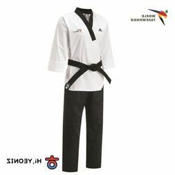 Adidas Taekwondo Uniform Taekwondo Poomsae dan Dobok for Men