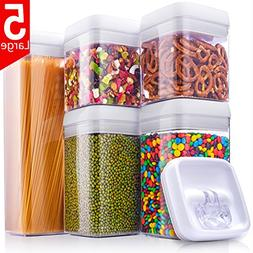 ME.FAN Large Air-Tight Food Storage Container Set  - Pantry