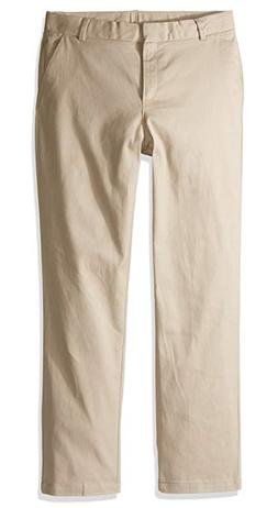 Nautica Apparel Big Girls Uniform Stretch Twill Skinny Pants
