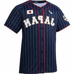 asics  baseball wear short-sleeved uniform replica general S