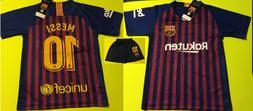Barcelona 2019 Messi Kids Set Kit Uniform Soccer Jersey Team