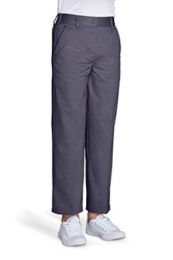 French Toast Big Pull-On Boys Pant, Gray, 5