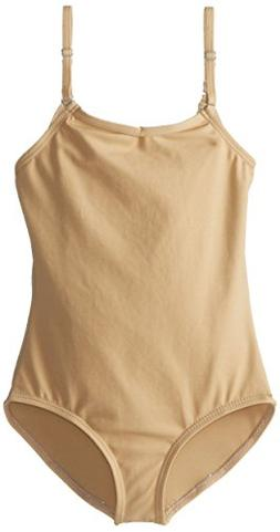 Capezio Big Girls' Team Basic Camisole Leotard W/ Adjustable