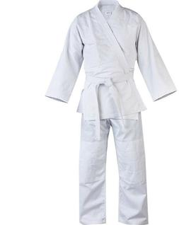 Judo Uniform, Single Weave 450 gram White kids/Adults