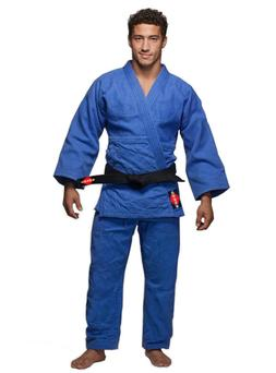 KANKU Bjj gi, Judo Uniform, Single Weave 450 gram White and
