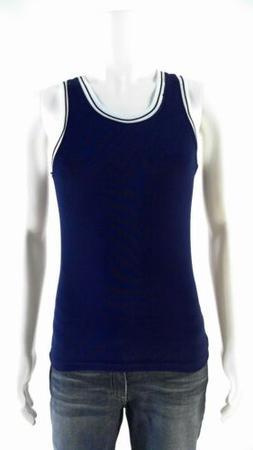 VKM Blank Athletic Fitness Tank Uniform Boys size 12 Shirt T