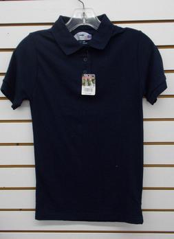 Boys Preferred School Uniform Navy Polo Shirt Size 8 - 18/20