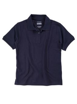 boys school uniform short sleeve polo shirt