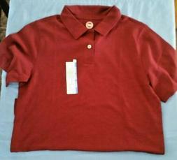 Wonder Nation Boys School Uniform Short Sleeve  Polo Shirts