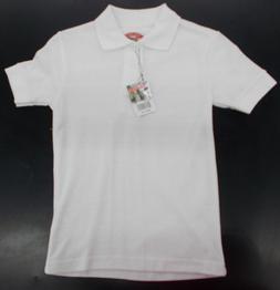 Boys Preferred School Uniform White Polo Shirts Sizes 5, 6 &