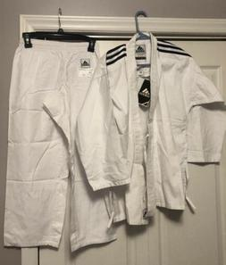 Brand New Adidas Karate Youth Martial Arts Uniform Gi Size 1