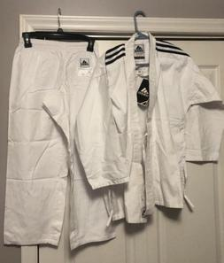 Brand New Adidas Karate Youth Martial Arts Uniform Gi Size 1