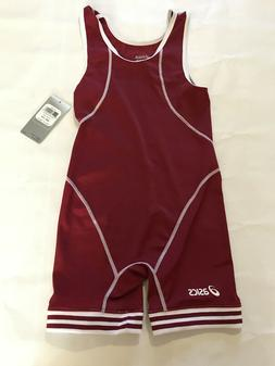 BRAND NEW ASICS WRESTLING SINGLET UNIFORM TIGHTS SIZE 2XS MA