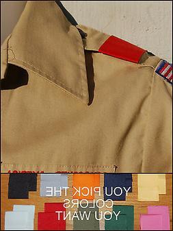 BSA Boy Cub Scout Uniform Shoulder Loops Epaulet New ANY COL