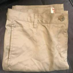 Cat & Jack Girl's Khaki Uniform Pants - Size 16 Husky - NWOT