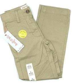 Cat & Jack School Uniforms Vintage Khakis Stretch Pants Size