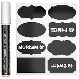 Chalkboard Labels Complete Bundle: 73 Premium Stickers for J