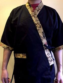 Chef Coat Jacket Sushi Restaurant Kimono Japaneses Uniform U