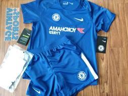 Chelsea FC Nike New W/Tags KIDS Large  Size Uniform Futbol S