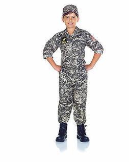 CHILD KIDS US ARMY CAMO CAMOUFLAGE SOLDIER MILITARY MARINE B