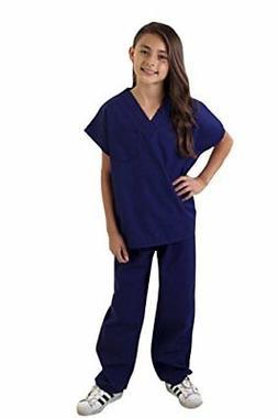 Natural Uniforms Childrens Scrub Set--Soft Touch  Fast Shipm