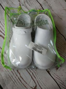 Natural Uniforms Clogs Slip On Shoes Size 9 White hospital m