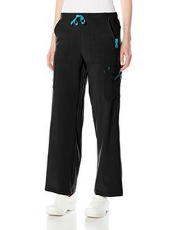 Carhartt Women's Cross-Flex Utility Scrub Pant, Black, X-Lar