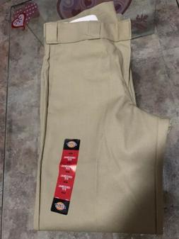 DICKIES Men's Original 874 Work Pants Military Khaki Sz 30w