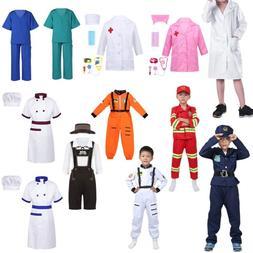 Doctors Firefighter Halloween Costume Fancy Dress Up Boys Gi