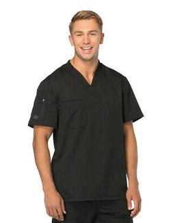 Dickies Dynamix DK610 Men's V-Neck Top Medical Uniforms Scru