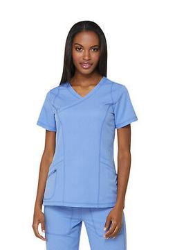 Dickies Dynamix DK660 Women's Mock Wrap Top Medical Uniforms