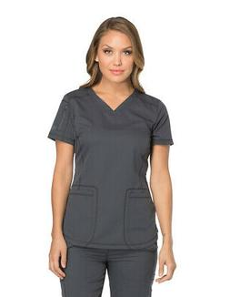 Dickies Dynamix DK730 Women's V-Neck Top Medical Uniforms Sc