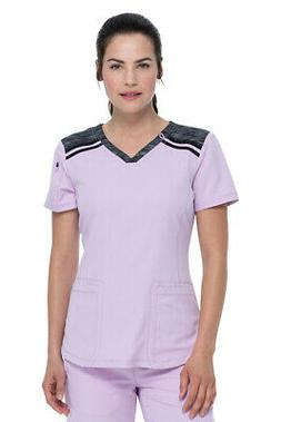 Dickies Dynamix DK740 Women's V-Neck Top Medical Uniforms Sc